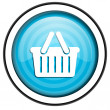 Shopping cart icon — Stock Photo #27161211