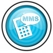 Mms icon — Stock fotografie #27161437