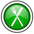 Restaurant icon — Stock Photo