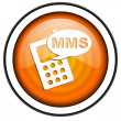 Mms icon — Stock fotografie #27276647
