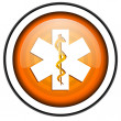 Caduceus icon — Stock Photo
