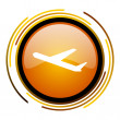 Departures icon — Stock Photo