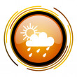 Weather forecast icon — Foto Stock