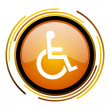 Accessibility icon — Stock Photo #27398525