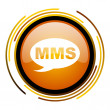 Mms icon — Stock fotografie #27398743