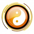 Ying yang icon — Stock Photo #27399929