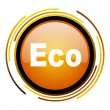 Eco icon — Stock Photo