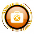 Toolkit icon — Stock Photo #27403401