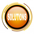 Solutions icon — Stock Photo #27404415