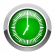 Stock Photo: Clock icon