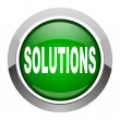 Solutions icon — Stock Photo #27514985