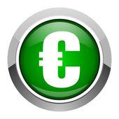 Euro icon — Stock Photo