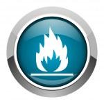 icono de llamas — Foto de Stock   #27582365