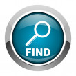 Find icon — Stock Photo #27582613