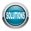 Solutions icon — Stock Photo #27583353