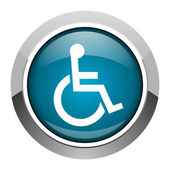 Accessibility icon — Stock Photo