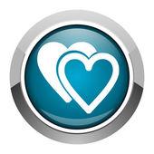 Love icon — Stock Photo