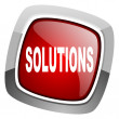 Solutions icon — Stock Photo #27715815