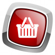 Shopping cart icon — Stock Photo #27716033