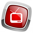 Tv icon — Stock Photo #27716125