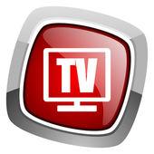 Tv icon — Stock Photo