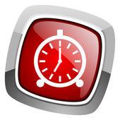 Alarm clock icon — Stock Photo