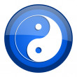 Ying yang icon — Stock Photo #27790261