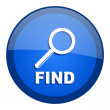 Find icon — Stock Photo #27790517