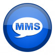 Mms icon — Stock fotografie #27790585