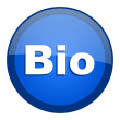 Bio icon — Stock Photo #27791113
