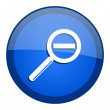 Magnification icon — Stock Photo #27791285
