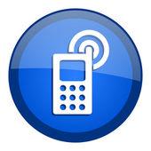 Cellphone icon — Stock Photo