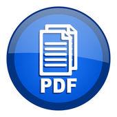 Pdf icon — Stock Photo