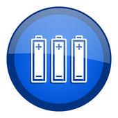 Batteries icon — Stock Photo