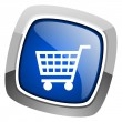 Shopping cart icon — Stock Photo #27886797