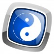 Ying yang icon — Stock Photo #27886913