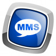 Mms icon — Stock fotografie #27887407