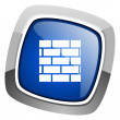Firewall icon — Stock Photo #27887507