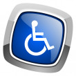 Accessibility icon — Stock Photo #27887991