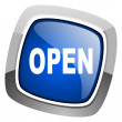 Open icon — Stock Photo #27888277