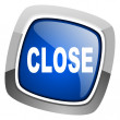 Close icon — Stock Photo #27888293