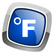 Fahrenheit icon — Stock Photo #27888387