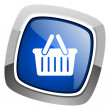 Shopping cart icon — Stock Photo #27888569
