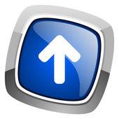 Sube imágenes de icono — Foto de Stock