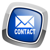 Contact icon — Stock Photo