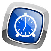 Alarm clock icon — Fotografia Stock