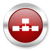 Database icon — Стоковое фото
