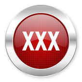 Xxx icon — Stock Photo