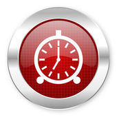 Alarm clock icon — 图库照片