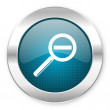 Magnification icon — Stock Photo #28246591